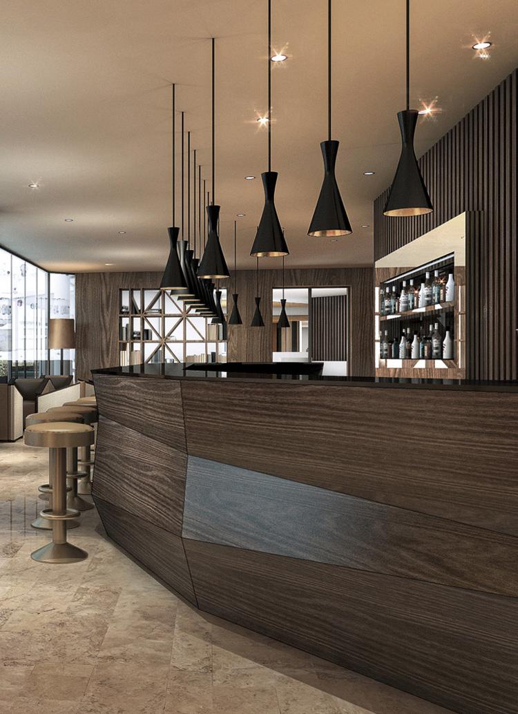 Innenarchitekt Interior Design Hotel Hotellerie Restaurant Retail: Mövenpick Restaurant & Bar, Lausanne-Ouchy