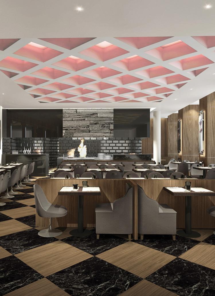 Innenarchitekt Interior Design Hotel Hotellerie Restaurant Retail: Restaurant, boutique hotel, Zurich