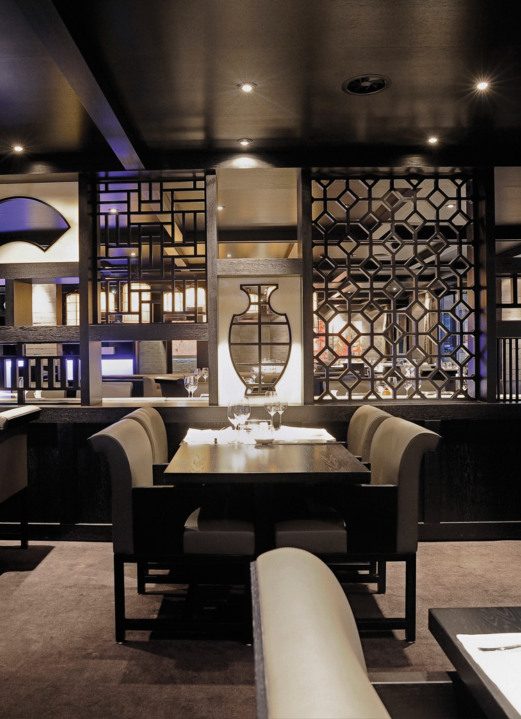 Innenarchitektur Architektur Design Catering industry, restaurant : Restaurant China, Davos