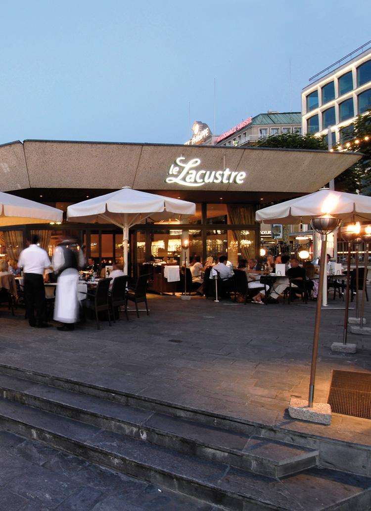 Innenarchitekt Interior Design Hotel Hotellerie Restaurant Retail: Ristorante Le Lacustre, Geneva