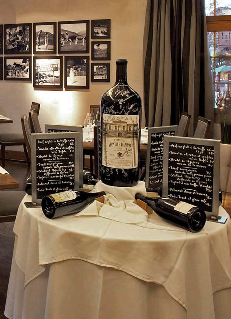 Innenarchitekt Interior Design Hotel Hotellerie Restaurant Retail: Ristorante Rialto, Gstaad