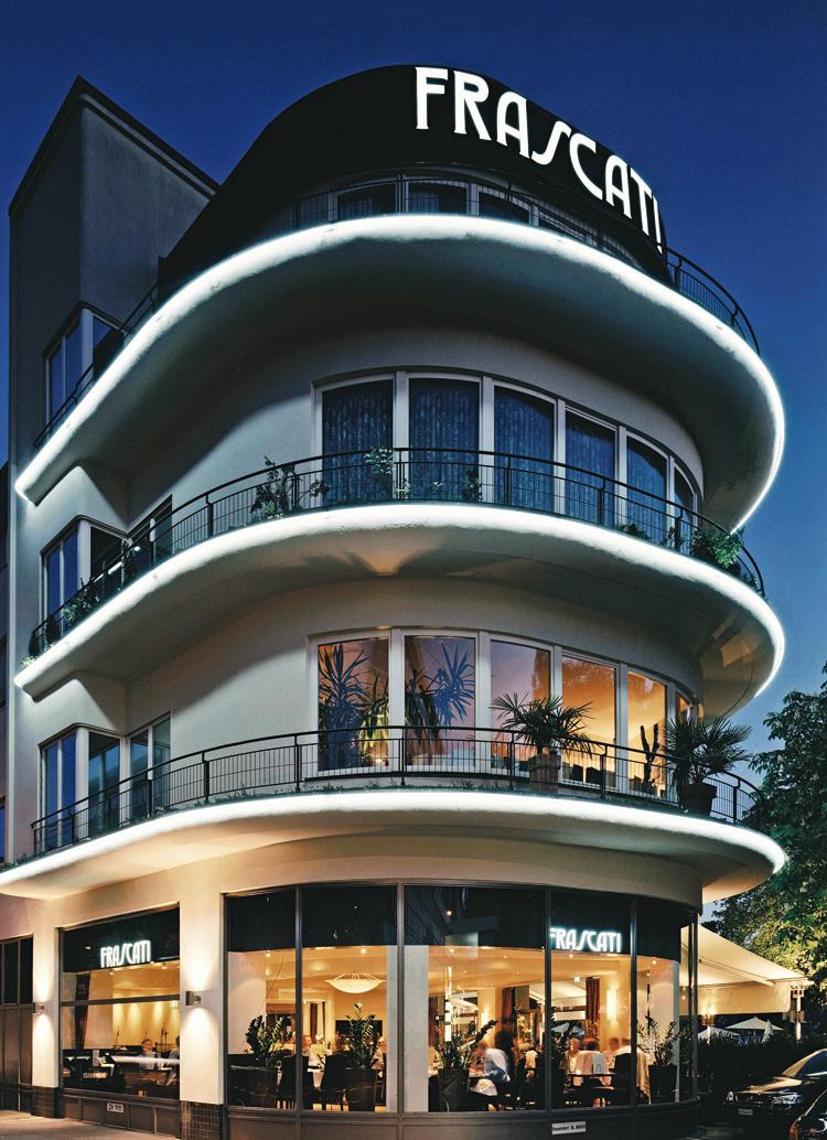 Innenarchitekt Interior Design Hotel Hotellerie Restaurant Retail: Ristorante Frascati, Zurich