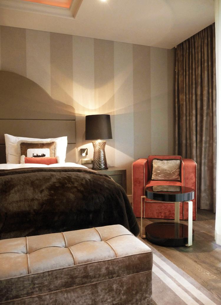 Innenarchitekt Interior Design Hotel Hotellerie Restaurant Retail: Seehotel Überfahrt, Rottach-Egern