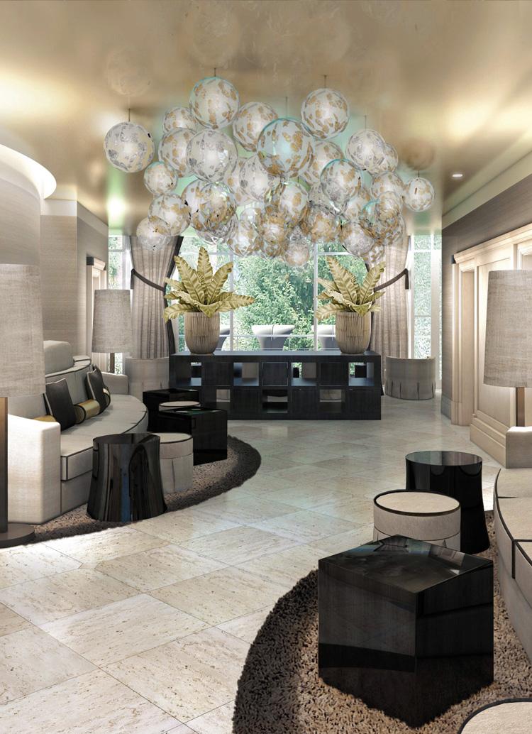 Innenarchitekt Interior Design Hotel Hotellerie Restaurant Retail: Spa, Seehotel Ueberfahrt, Rottach-Egern