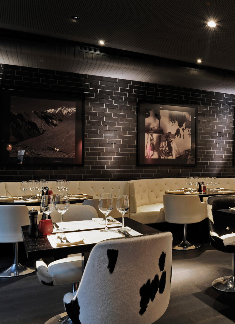 Innenarchitektur Architektur Design Catering industry, restaurant: Churrasco Steakhouse & Bar, Zurich