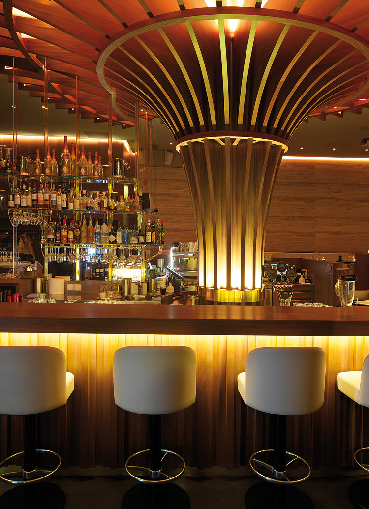 Innenarchitektur Architektur Design Catering industry, restaurant bar design: Luv Drink & Dine, Zurich