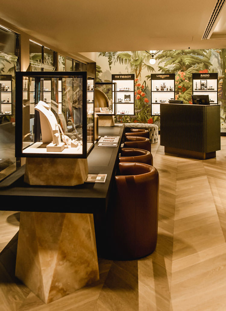 Innenarchitektur Architektur Design retail Shopdesign: Kurz Jewellery, Weggisgasse, Lucerne, by Bucherer Group