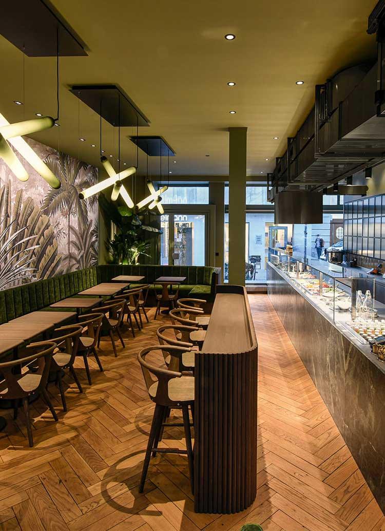 Innenarchitekt Interior Design Hotel Hotellerie Restaurant Retail: Ona Poké Linteschergasse Zürich