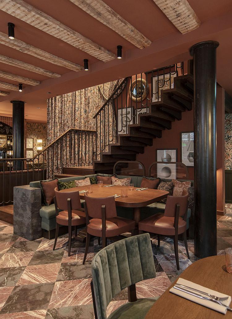 Innenarchitekt Interior Design Hotel Hotellerie Restaurant Retail: Osteria Borgo Altstadt Zürich