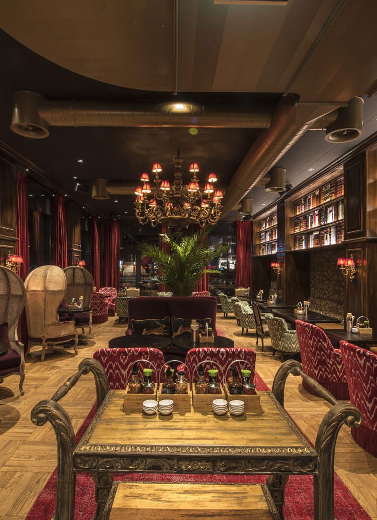 Innenarchitekt Interior Design Hotel Hotellerie Restaurant Retail: Restaurant Nooch Mattenhof Kriens