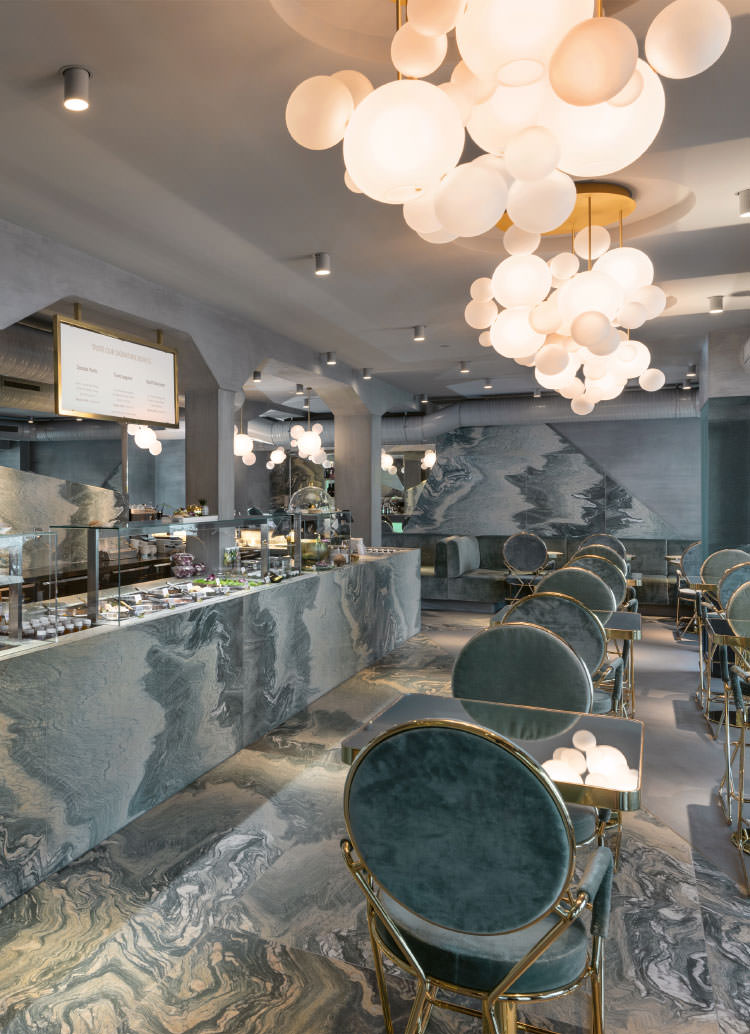Innenarchitekt Interior Design Hotel Hotellerie Restaurant Retail: Ona Poké Lochergut Zürich