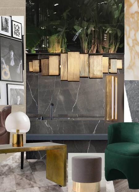 Innenarchitekt Interior Design Hotel Hotellerie Restaurant Retail: Moodboard Kurz Freiestrasse Basel Mai