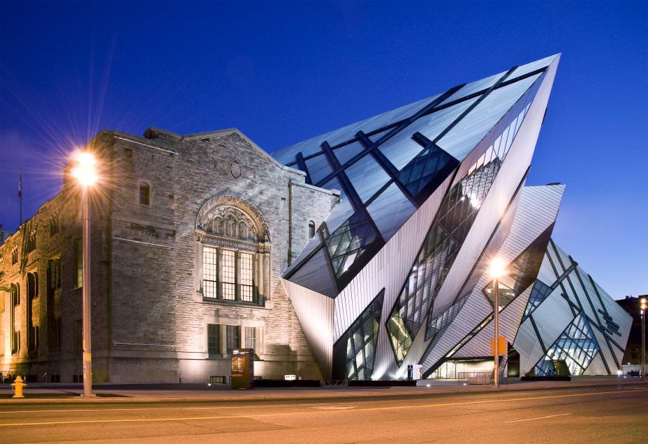 Innenarchitekt Interior Design Hotel Hotellerie Restaurant Retail: Royal Ontarion Museum Daniel Liebeskind
