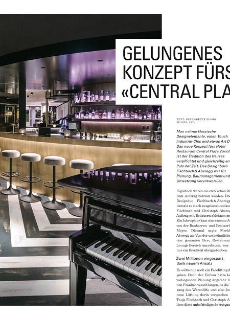 Innenarchitekt Interior Design Hotel Hotellerie Restaurant Retail: Bericht Central Plaza