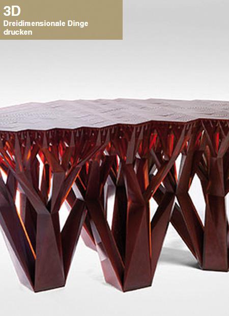 Innenarchitekt Interior Design Hotel Hotellerie Restaurant Retail: 3D Dreidimensionale Dinge drucken