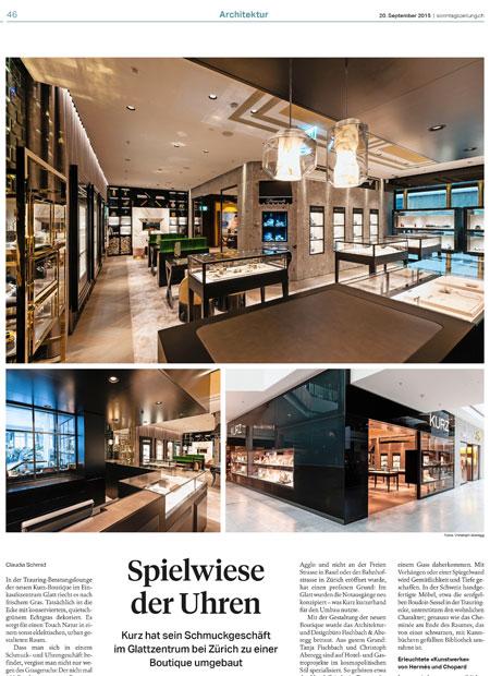interior architect interior design hospitality retail: Kurz bericht Tagi