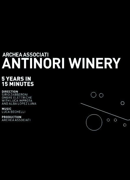 Innenarchitekt Interior Design Hotel Hotellerie Restaurant Retail: Antinori Winery