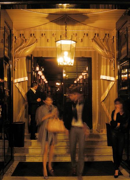 interior architect interior design hospitality retail: Hotel Costes Paris