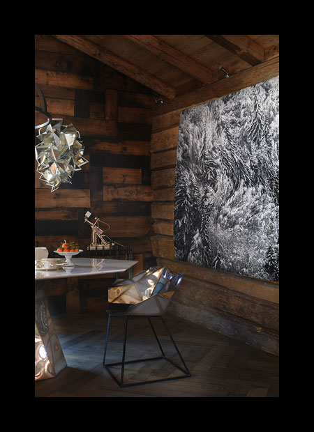 interior architect interior design hospitality retail: Awesome scenery of a mountain chalets interior design