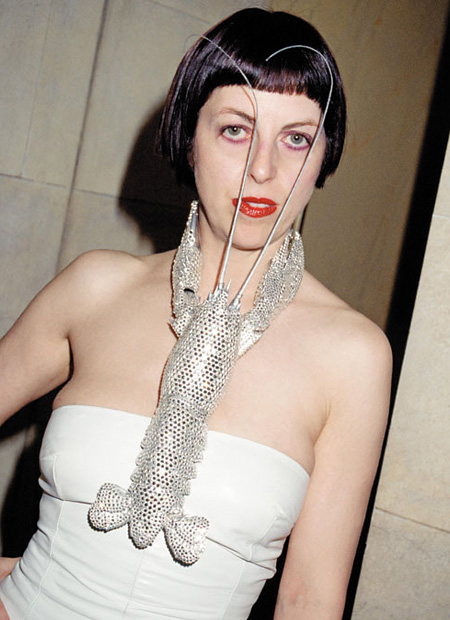 interior architect interior design hospitality retail: Portrait of Isabella Blow