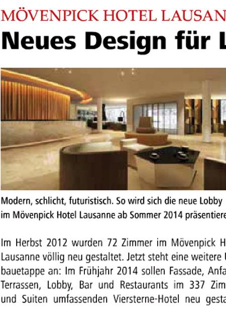 interior architect interior design hospitality retail: Hotelier Szene Dez 2013