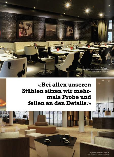 interior architect interior design hospitality retail: Salz & pfeffer stuhl november 2013