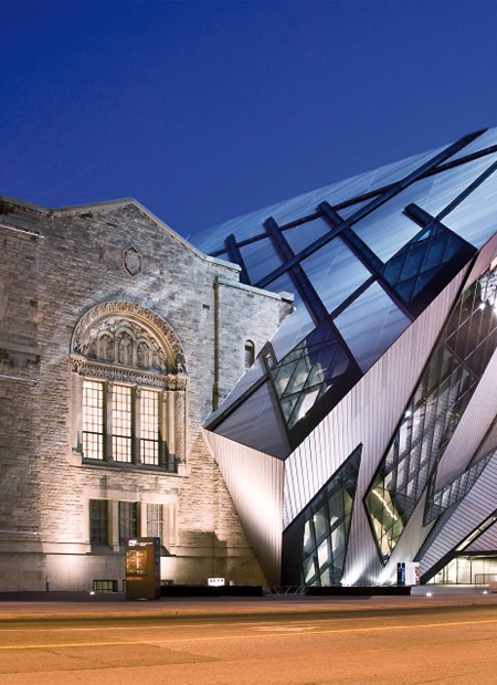 interior architect interior design hospitality retail: Royal Ontarion Museum Daniel Liebeskind