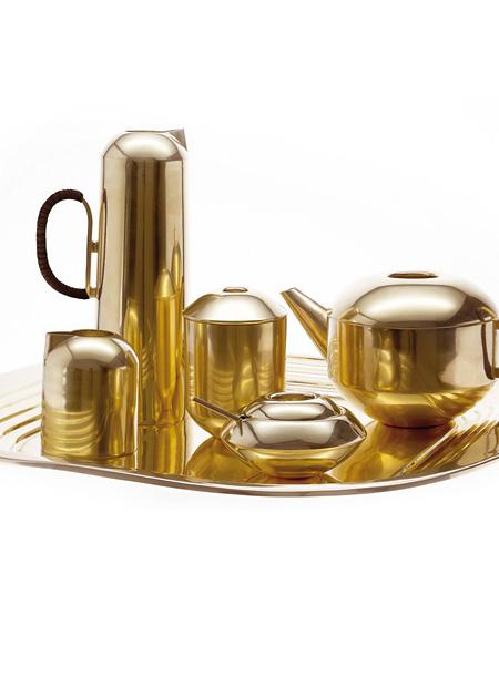 Innenarchitekt Interior Design Hotel Hotellerie Restaurant Retail: Tea Set von Tom Dixon